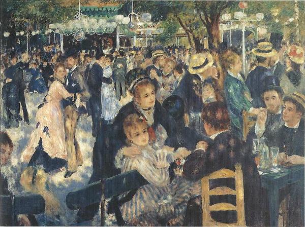 Bal Au Moulin de la Galette - Pierre-Auguste Renoir - 1876, Olio su tela, cm 131 x 175 Parigi, Musée d'Orsay